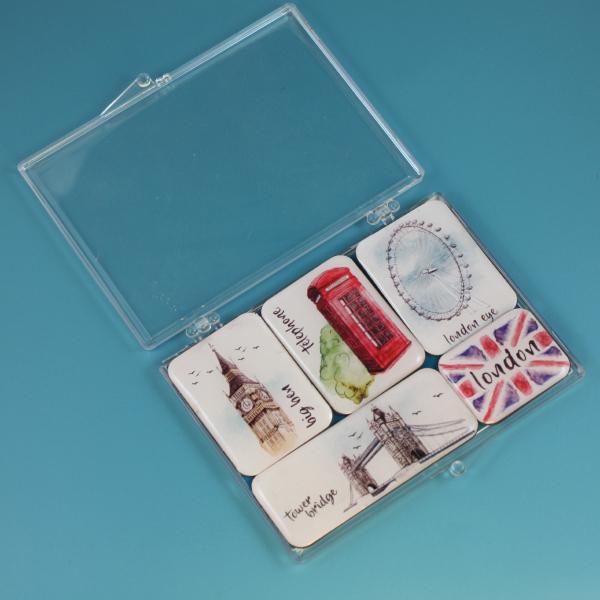 LONDRA Mini Magnet Set