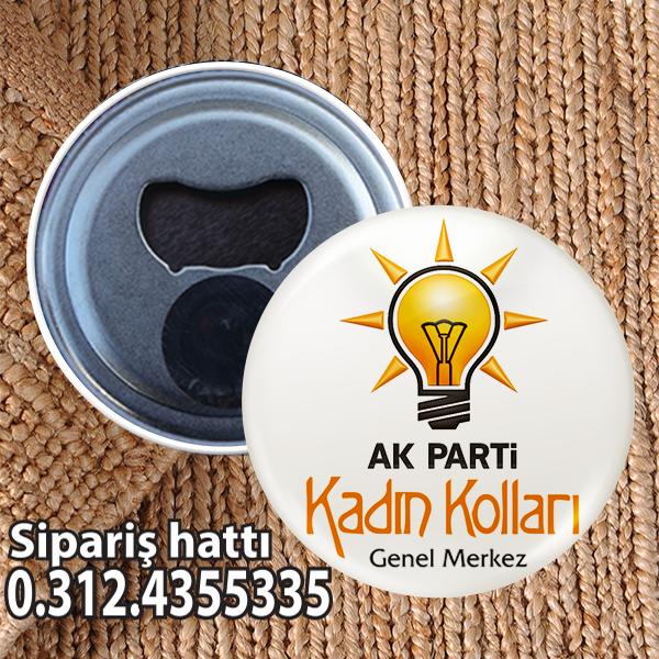 AKP Kadın Kolları Buton Açacak