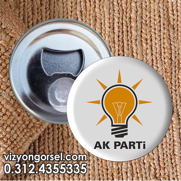 Şişe Açacağı AKP