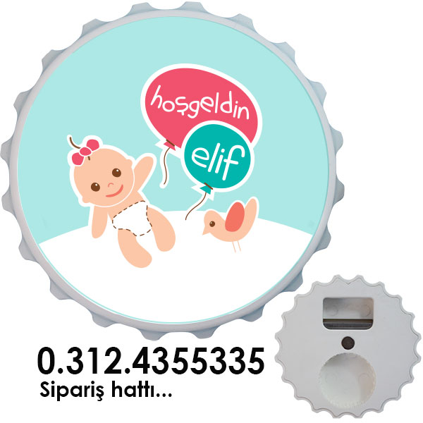 Magnet Açacak - Bebek Magneti