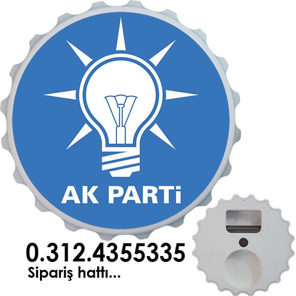 Magnet Şişe Açacağı - AK Parti