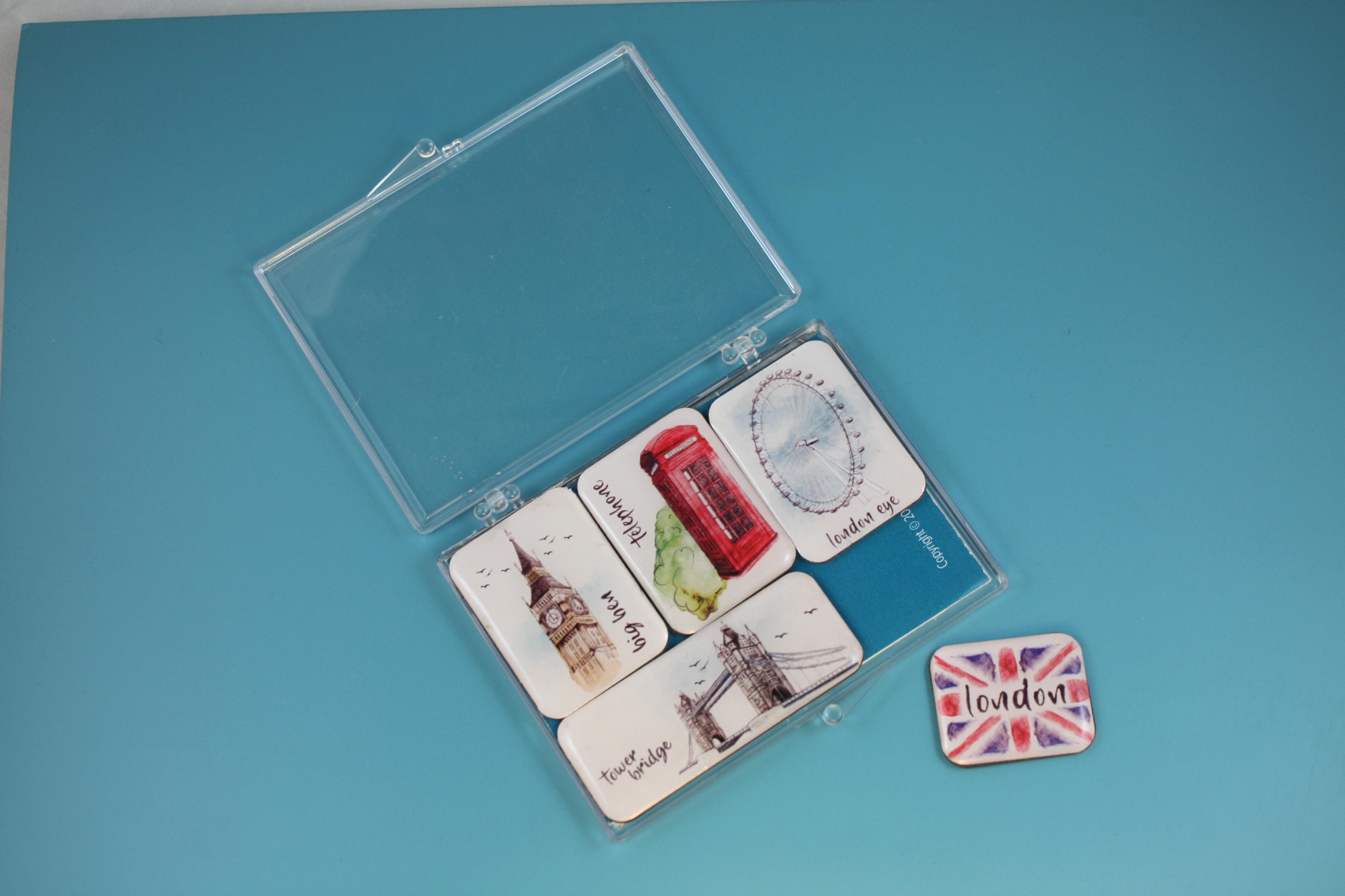 Mini Magnet Set - Londra